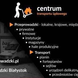 CTL - Przeprowadzki Białystok, Centrum Transportu Lądowego - Transport Bagażowy Międzynarodowy Białystok