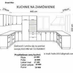 Stolarstwo Grześ-Mar - Szafy Do Zabudowy Łęgowo