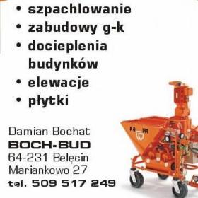 Boch-Bud - Firmy budowlane Zakrzewo