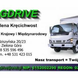MAGDRIVE - Transport busem Zielona Góra