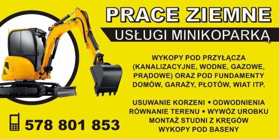 DRINK-POL - Usługi Minikoparką Skierniewice