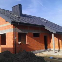 Stan surowy z dachem, Porotherm , Dach- Blachpol