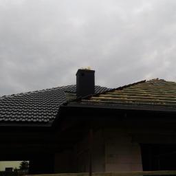 Dach - dachówka betonowa Braas