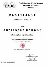 Kancelaria Rachunkowa AGRA Agnieszka Radwan - Biuro rachunkowe Kraków