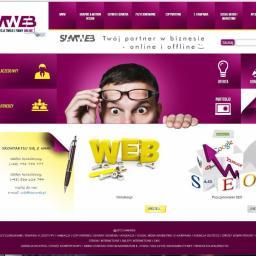 SAMWEB - Logotyp Łódź