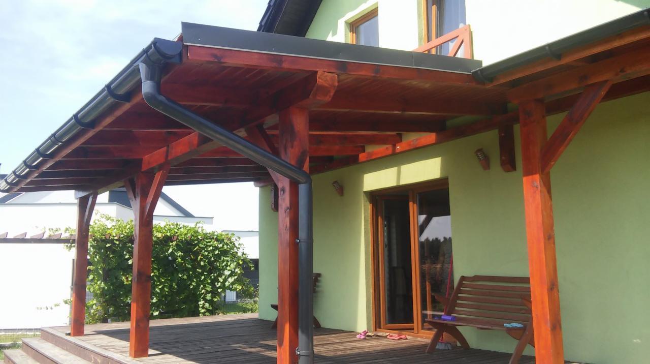 Zlecę Budowę Drewnianej Altany 135m2 Stan Deweloperski