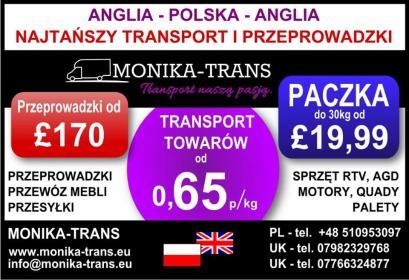 Monika-trans - Firma transportowa Elbląg