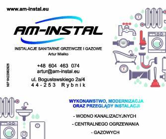 AM-INSTAL Artur Mielko - Instalacja Sanitarna Rybnik