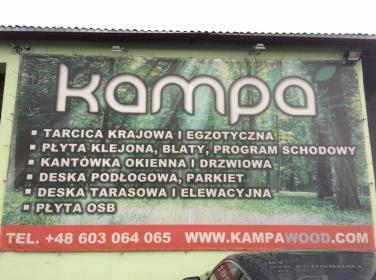 FH KAMPA Mariusz Czaplejewski - Skład drewna Koszalin