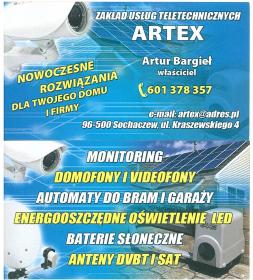 Zakład Usług teletechnicznych ARTEX - Usługi Instalatorskie Sochaczew