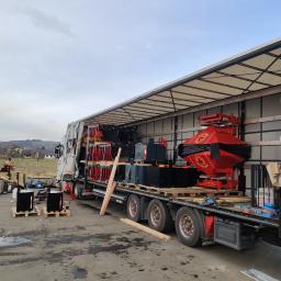 Transport maszyn rolniczych . STEKRO BRZEZNA