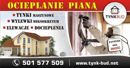 TYNK-BUD Cezary Woźniak - Tynkowanie Pistoletem Słubice