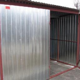 Eurobom.pl - Garaże blaszane i bramy garażowe - Bramy garażowe Kraków