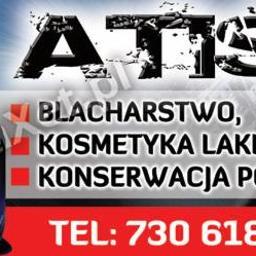ATIS lakiernictwo blacharstwo - Firmy motoryzacyjne Iława