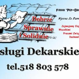 Pep-Dach - Renowacja Dachu Łódź
