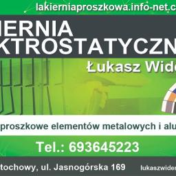 Lakiernia Elektrostatyczna Łukasz Widera - Rzemiosło Częstochowa