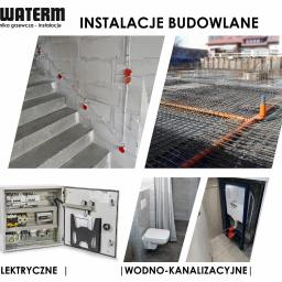 """INSTALACJE WOD-KAN I ELEKTRYCZNE Nie rozdrabniaj się na wielu podwykonawców i """"złote rączki""""!  Zaufaj autoryzowanym instalatorom.  Profesjonalnie zaplanujemy i zamontujemy wszystkie instalacje budowlane w Twoim domu"""