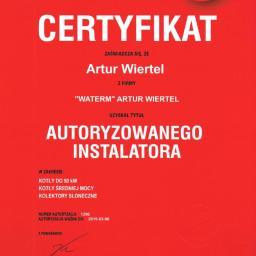 Certyfikat Immergas