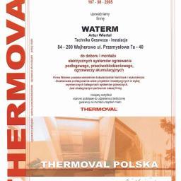 Certyfikat Thermoval