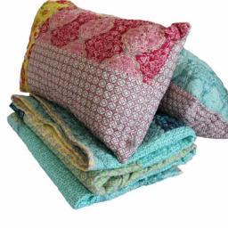 narzuta quilt-patchwork zestaw z poduszkami