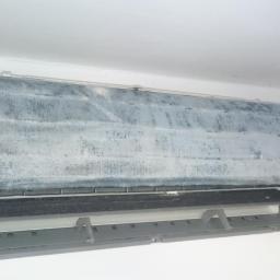 Czyszczenie / Odgrzybianie chłodnicy ( rozebrany front panel )