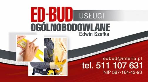 Ed-Bud Usługi Ogólnobudowlane - Alarmy Leśniewo