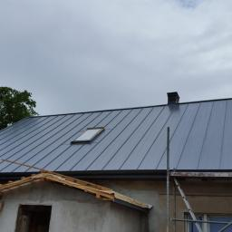 Remont dachu. Panele na rabek