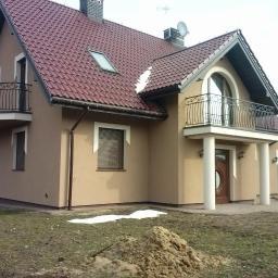 Bernaś - Bud - Ocieplanie poddaszy Moszczenica