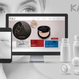 Strona internetowa www.kajpackaging.com