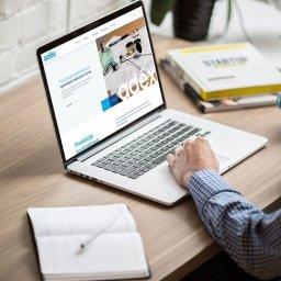 Strona internetowa dla firmy kosmetycznej www.adexcosmetics.com
