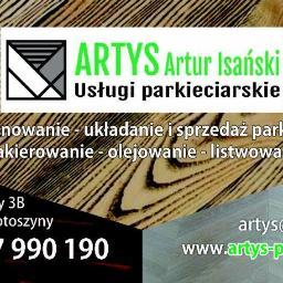ARTYS ARTUR ISAŃSKI - Cyklinowanie Parkietu Krotoszyny Pomorskie