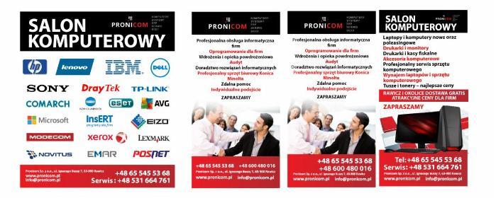 Pronicom Sp. z o.o. - Urządzenia dla firmy i biura Rawicz