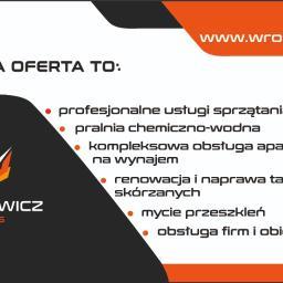 Wroniewicz Serwis - Mycie okien w firmie Gdynia