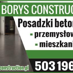 Paweł Borys Construction - Posadzki przemysłowe Łomża