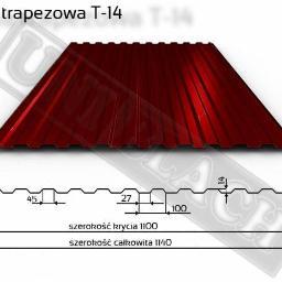 Blacha trapezowa T-14