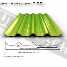Blacha trapezowa T-55