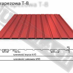 Blacha trapezowa T-8