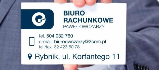 BIURO RACHUNKOWE OWCZARZY SP. Z O.O. - Usługi podatkowe Rybnik