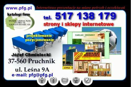 Podkarpackie Forum Gospodarcze - Strony internetowe Pruchnik