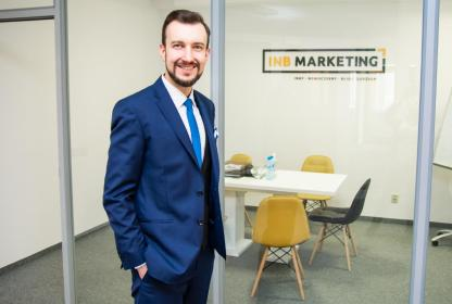 INB Marketing - logo, branding, strony www, marketing z gwarancją - Strony internetowe Lublin