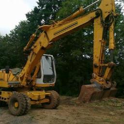 Roboty ziemne rozbiórki niwelacja terenu wykopy