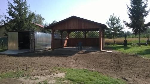 Zakład Stolarski - Ogrodzenia drewniane Łapczyca