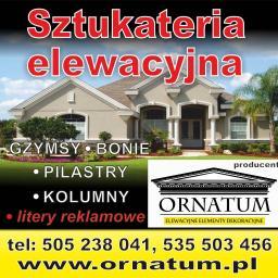 ORNATUM elewacyjne elementy dekoracyjne - Ocieplanie Pianką PUR Biała Podlaska