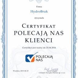 PBD HydroBRUK s.c. Mariusz Hoczek , Łukasz Łyskawka - Odśnieżanie dróg i placów Bielsko-Biała