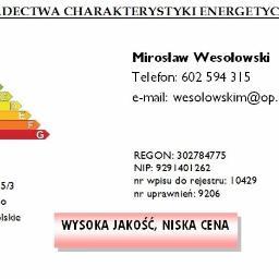 Mirosław Wesołowski Świadectwa charakterystyki energetycznej - Ocieplanie Pianką PUR Leszno