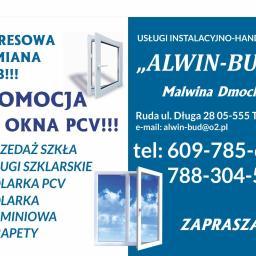 """Firma Instalacyjno-Handlowa """"ALWIN-BUD"""" Malwina Dmoch - Drzwi Tarczyn"""