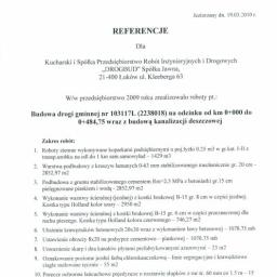 Przedsiębiorstwo Robót inżynieryjnych i Drogowych DROGBUD Sp. z o. o. - Styropian Łuków