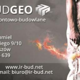 """Usługi Remontowo-Budowlane """"Irbud-Geo"""" Ireneusz Czajka- Chmiel - Projektant instalacji elektrycznych Rzeszów"""