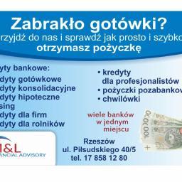 Financial Advisory M&L - Kredyt na Dowód Rzeszów