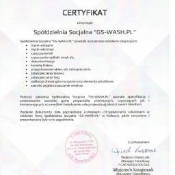 Spółdzielnia Socjalna G5-WASH.PL - Usługi Sprzątania Kielce